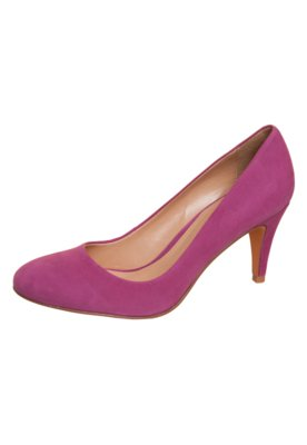 Sapato Scarpin Liso Rosa - My Shoes