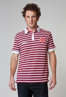 Camisa Polo Internacional Casual Vinho - Reebok