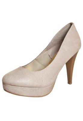 Sapato Scarpin FiveBlu Meia-Pata Bege