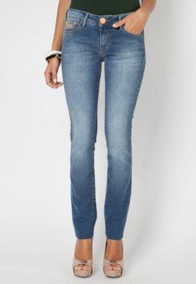 Calça Jeans Forum Skinny Estela Original Azul