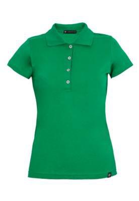 Camisa Polo Anna Flynn Color Pratic Verde