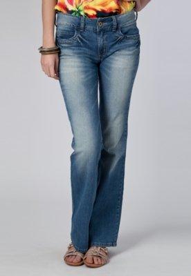 Calça Jeans Flare Katy Azul - Colcci
