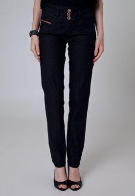 Calça Jeans Sawary Skinny Ouse Preta
