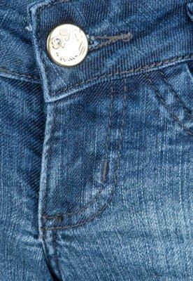 Calça Jeans Sawary Reta Fashion Azul Infantil
