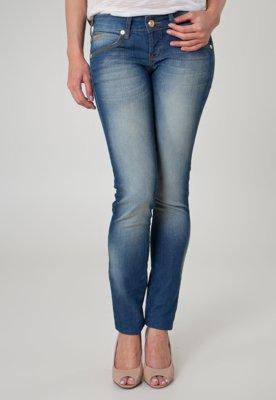 Calça Jeans Coca-Cola Clothing Skinny Kate Life Azul - Coca...