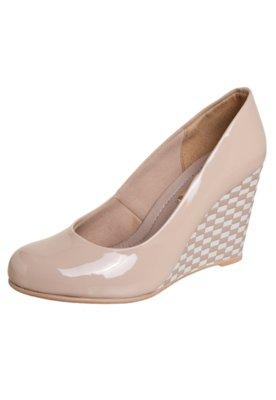 Sapato Scarpin Dijean Verniz Nude