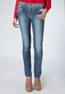 Calça Jeans Skinny Polar Azul - Carmim