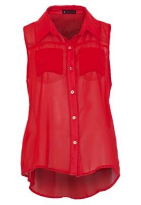 Blusa Anna Flynn Beauty Vermelha