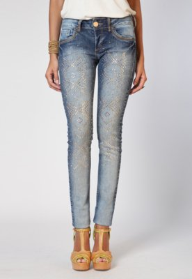 Calça Jeans Colcci Katy Skinny Glam Azul