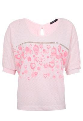 Blusa FiveBlu Heart Rosa