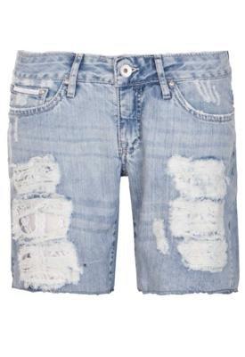 Bermuda Jeans Calvin Klein Style Azul - Calvin Klein Jeans