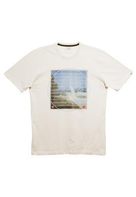 Camiseta Organic Round Find Off-white  - Billabong