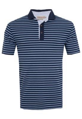 Camisa Polo VR Menswear Listrada Azul