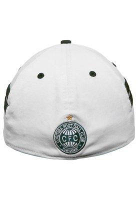 Boné New Era 39Thirty Coritiba Futebol CLube Branco/Verde -...