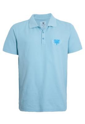 Camisa Polo Cavalera Brisa Azul