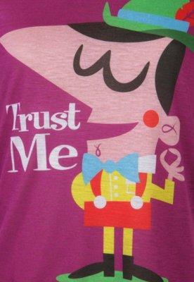 Blusa SPezzato Teen Pinoquio Roxa