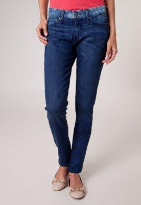 Calça Jeans Levis Skinny Demi Estonada Azul