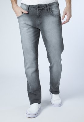 Calça Jeans Skinny John Cinza - Triton