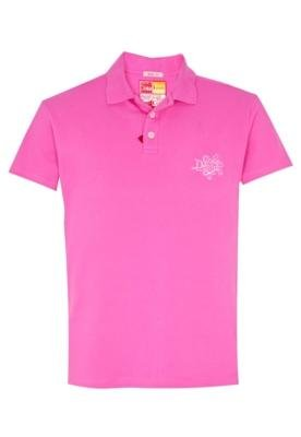 Camisa Polo Coca-Cola Clothing Brasil Bordado Rosa - Coca Co...