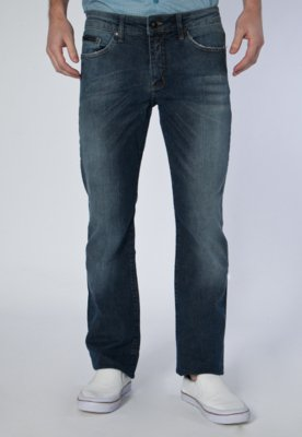 Calça Jeans Calvin Klein Jeans Reta Street Azul