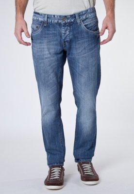 Calça Jeans Sawary Reta Atresc Azul