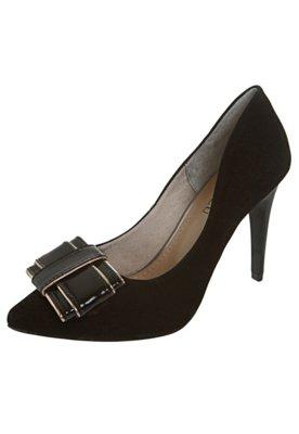 Sapato Scarpin FiveBlu Laço Verniz Preto