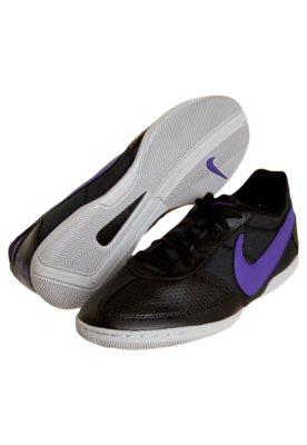 Chuteira Futsal Nike Davinho Preta