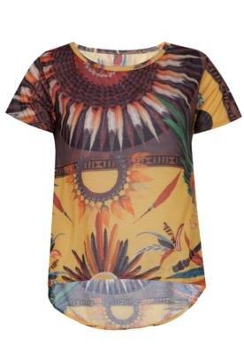 Blusa Loose Etnic Amarela - Coca Cola Clothing