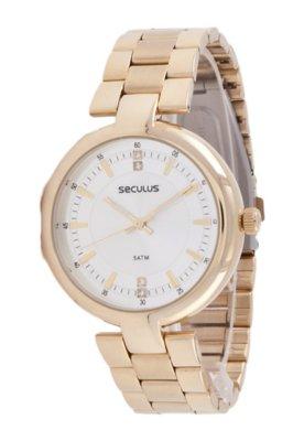 Relógio Seculus 28242LPSPDS1 Dourado