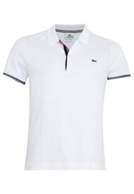 Camisa Polo Lacoste Valdo Branca