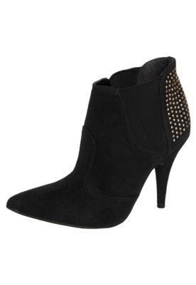 Ankle Boot Elástico Hotfix Preta - Crysalis
