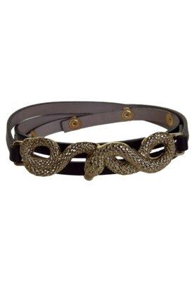Cinto Fiveblu Snake Hardy Preto