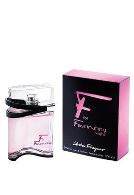 Eau de Parfum F for Fascinating Night 50ml - Perfume - Salva...
