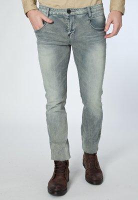 Calça Jeans Handbook Reta Montovani Azul