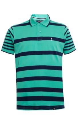 Camisa Polo Pier Nine Navy Listrada