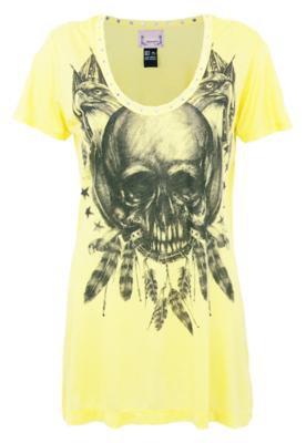 Blusa Comfort Rock Amarela - Colcci
