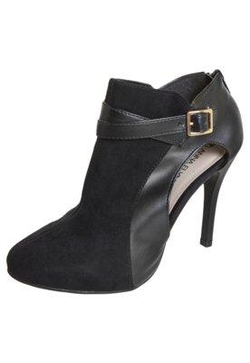 Ankle Boot Anna Flynn Modern Preta