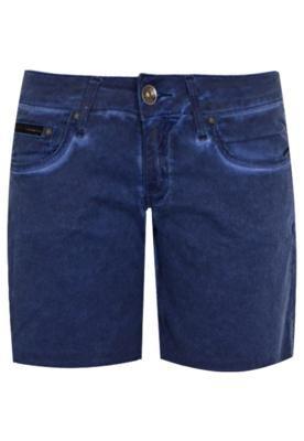Bermuda Sarja Calvin Klein Jeans Modern Azul