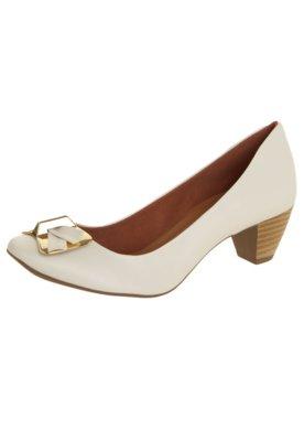 Sapato Scarpin Anna Flynn Universal Branco