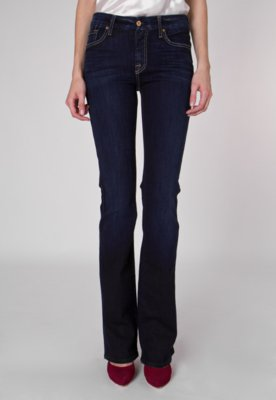 Calça Jeans 7 For all Mankind Kimmie Bootcut Style Azul