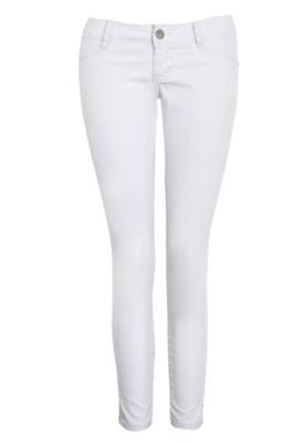 Calça Jeans Sawary Cigarrete Only Branca