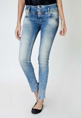 Calça Jeans Colcci Skinny Tina Stone Azul