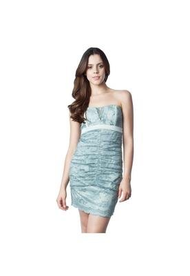 Vestido Renda Drape Verde - Shop 126