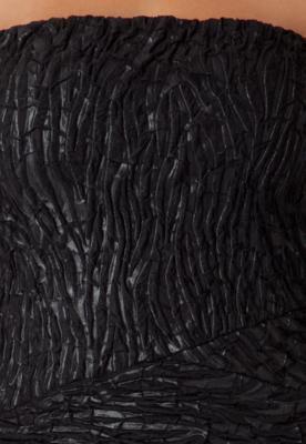 Vestido Justo Textura Preto - Forum