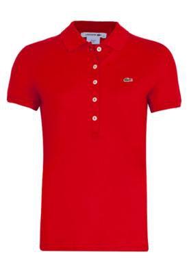Camisa Polo Galaxie Vermelha - Lacoste