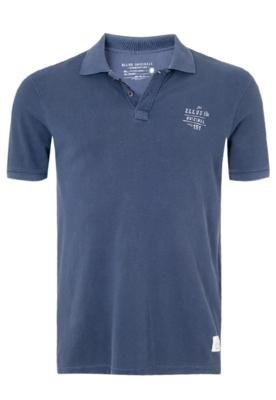 Camisa Polo Ellus Banda Azul