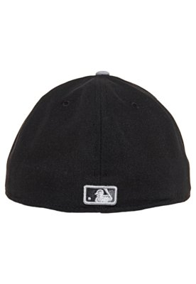 Boné 59Fifty Big Chenille Los Angeles Dodgers Preto - New E...