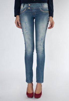 Calça Jeans Sawary Taux Azul