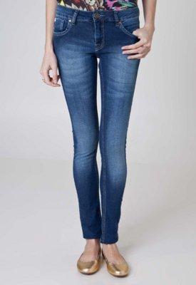 Calça Jeans Cantão Skinny Idea Azul