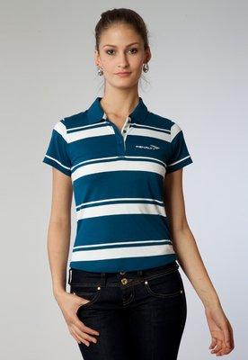 Camisa Polo Listrada 11 Azul/Branca - Penalty